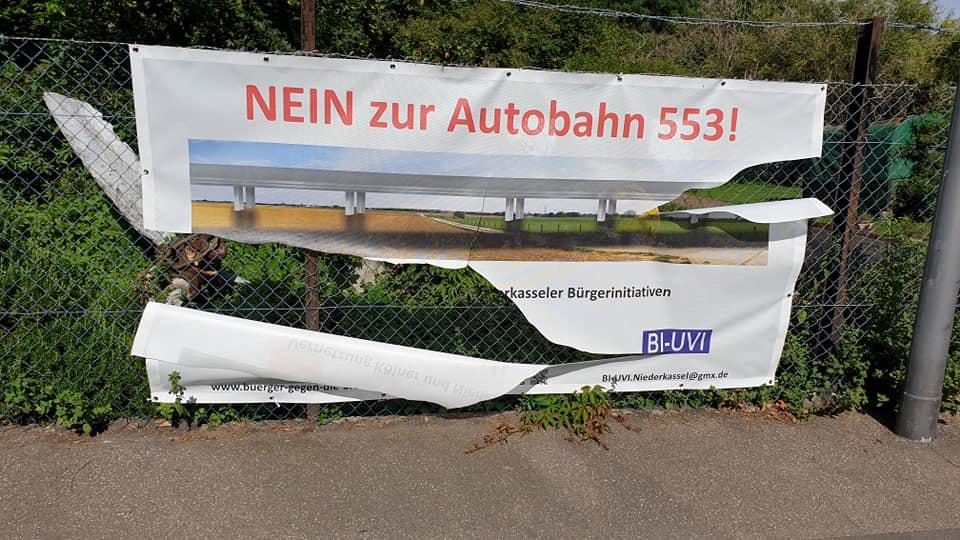 Die Bürgerinitiative Porz-Langel gegen die Autobahnquerung 553 bittet um Mithilfe